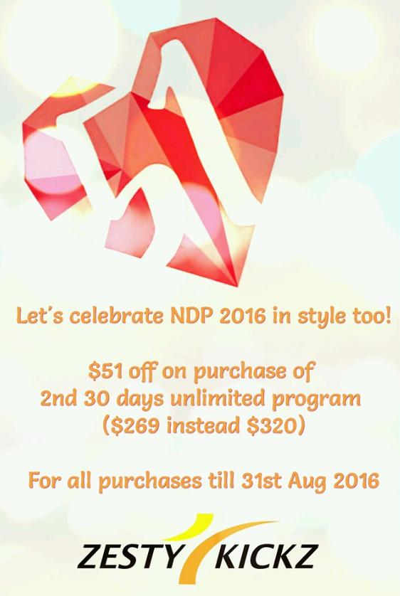 Celebrating NDP 51