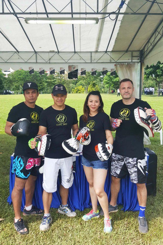 Muay Thai Corporate Event