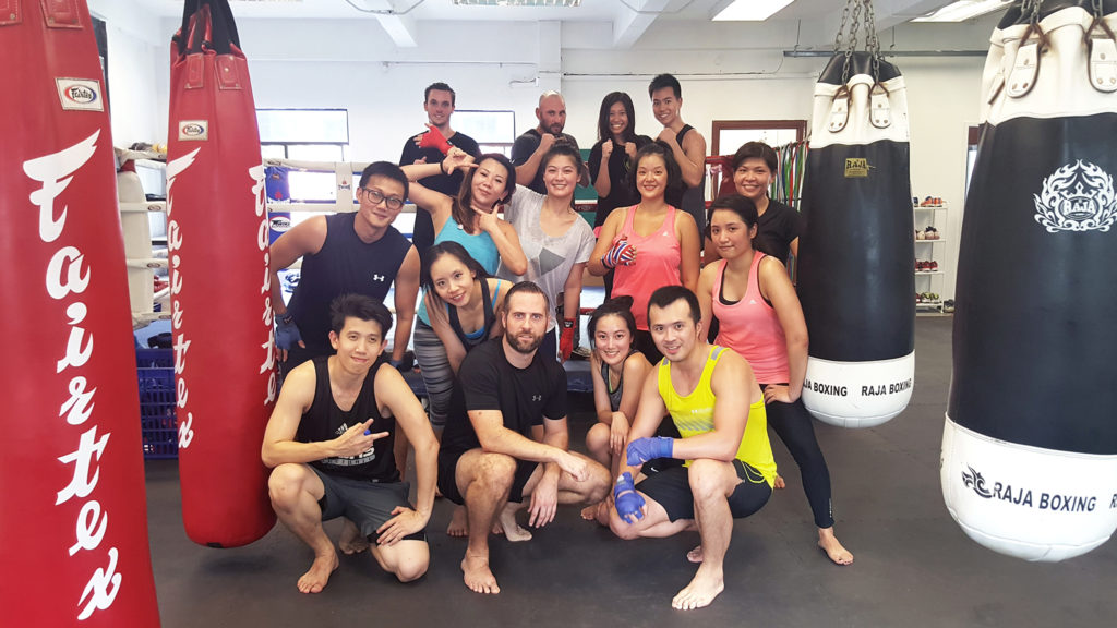 Muay Thai MMA Training Selegie Road