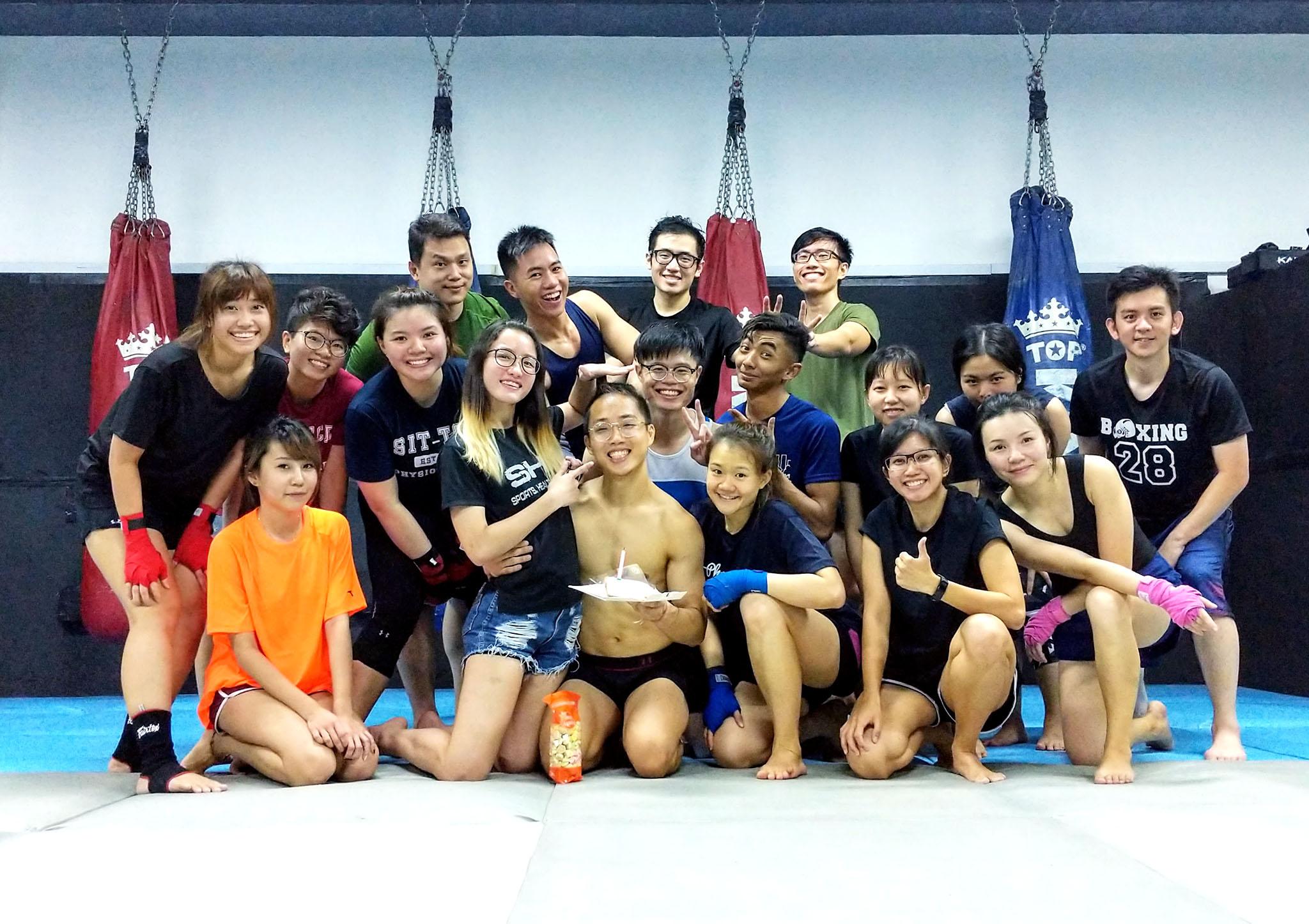 Muay Thai Classes Singapore | www JRMuayThai com