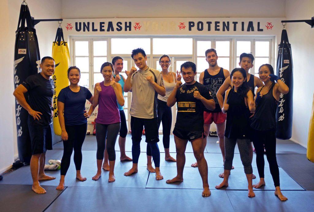 Muay Thai Raffles Place Singapore | Beginners to Advanced